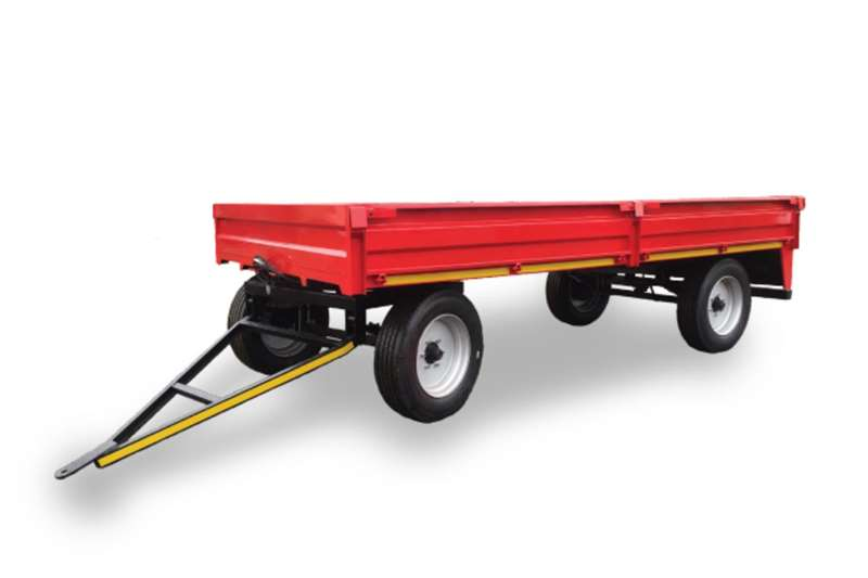 JBH Agri Dropside trailers 8 TON DROP SIDE TRAILER (5.4M X 2.3M X 0.45M) Agricultural trailers