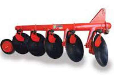 JBH Agri Ploughs 4 FURROW DISC PLOUGH Tillage equipment