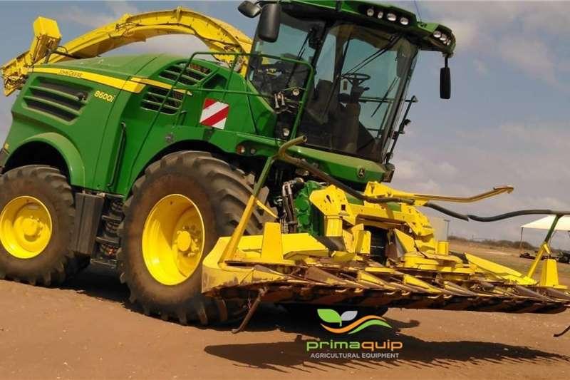 John Deere Harvesting equipment Forage harvesters John Deere 8600i + Kemper 360 2017