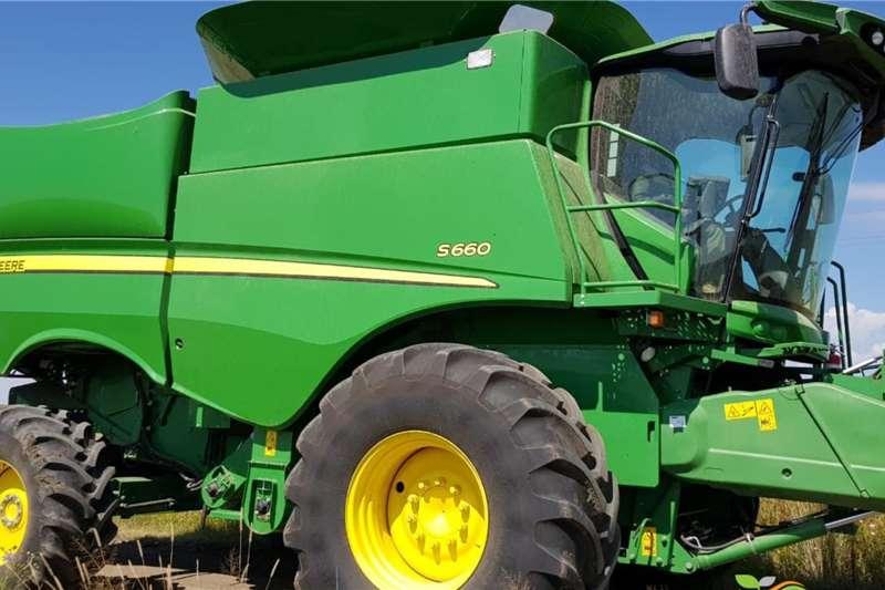 John Deere Harvesting Equipment Grain Harvesters John Deere S 660 2013