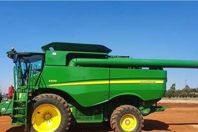 John Deere Grain harvesters John Deere S 670 Harvesting equipment
