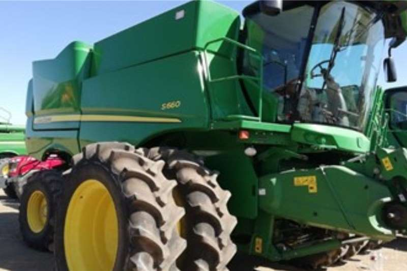 John Deere Harvesting equipment JOHN DEERE S660 2017