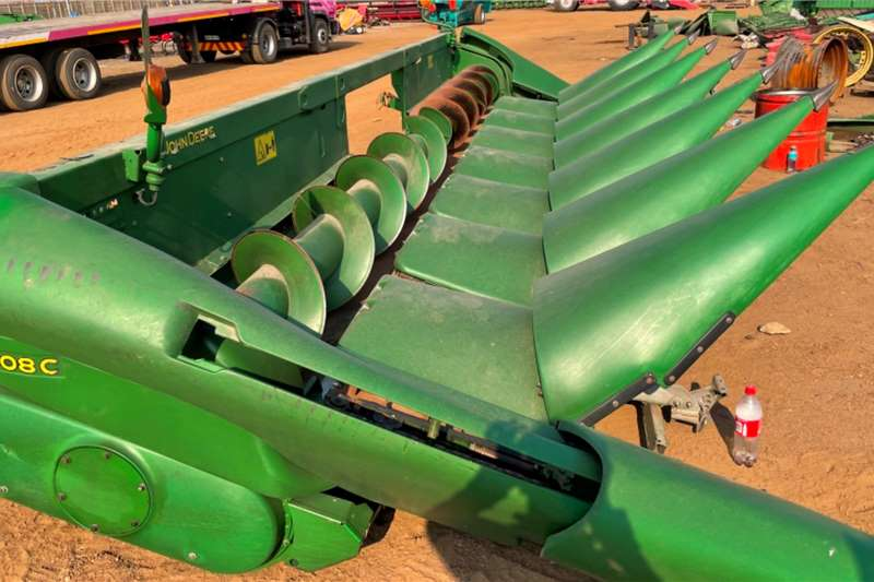 John Deere Maize headers John Deere 608C head Harvesting equipment