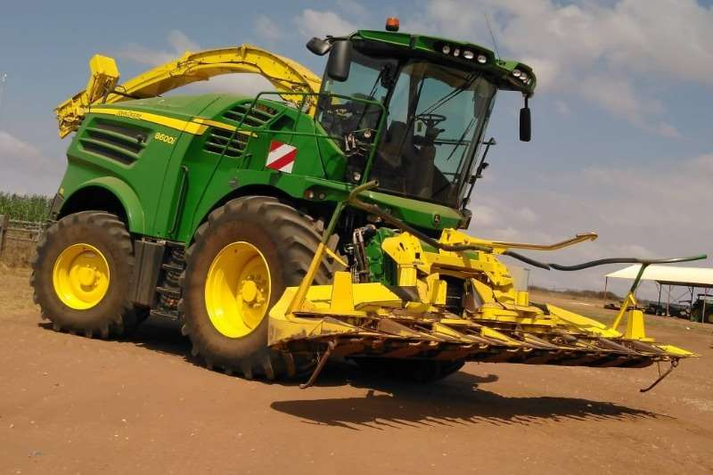 John Deere John Deere 8600i + Kemper 360 Haymaking and silage
