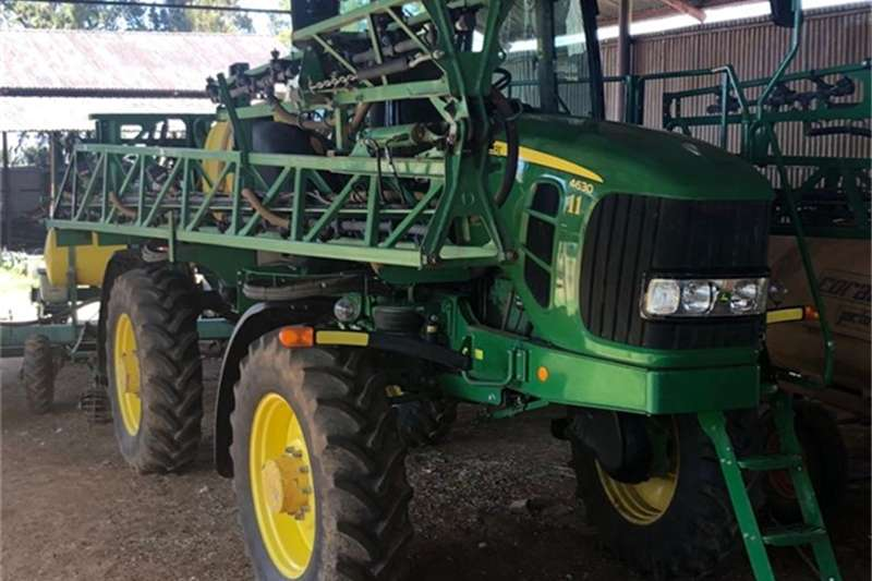 John Deere Sprayers and spraying equipment