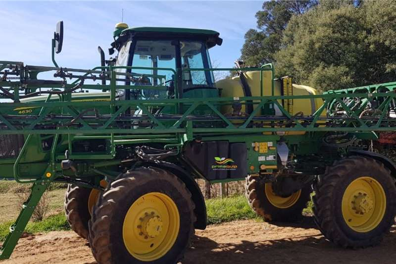 John Deere Spraying Equipment Boom Sprayers John Deere 4630 W 2014