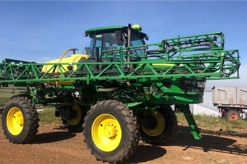 John Deere Spraying Equipment Boom Sprayers John Deere 4630 Wide 2015