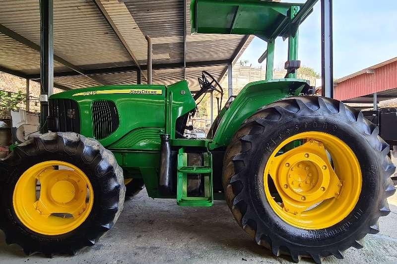 John Deere 4WD tractors 6215 4WD Tractors