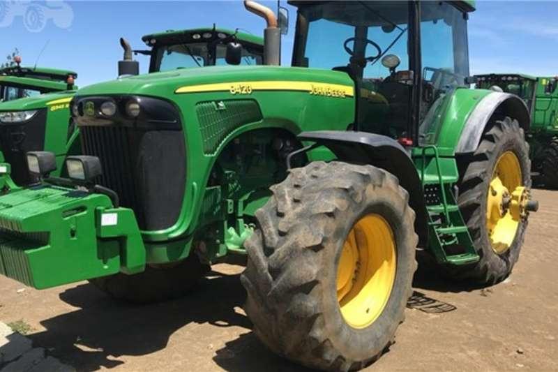 John Deere Tractors 4WD tractors 8420 2002
