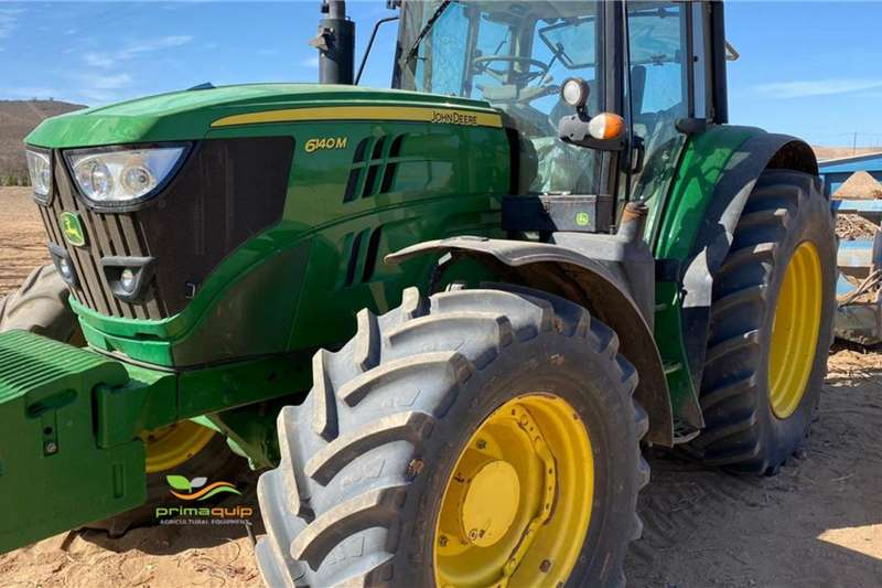 John Deere Tractors 4WD Tractors John Deere 6140 M A/T 2018