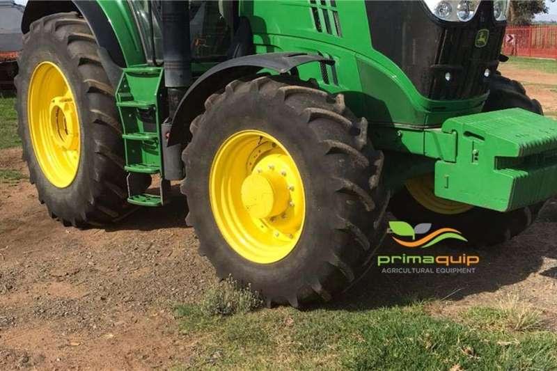 John Deere Tractors 4WD tractors John Deere 6195 M 2017