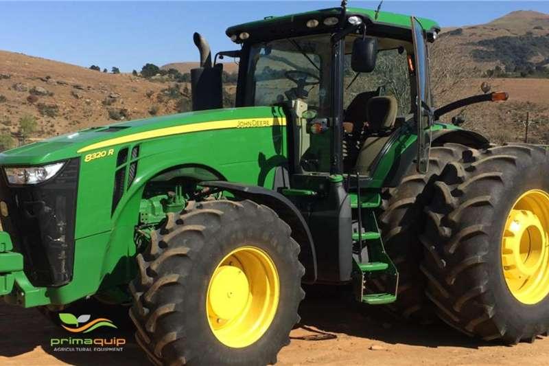 John Deere Tractors 4WD tractors John Deere 8320 R 2015