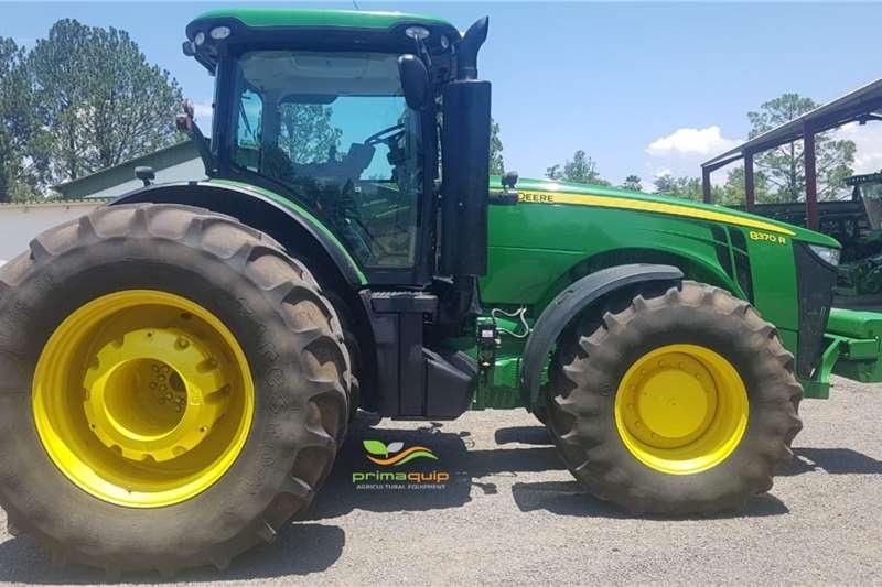 John Deere Tractors 4WD tractors John Deere 8370 R 2015