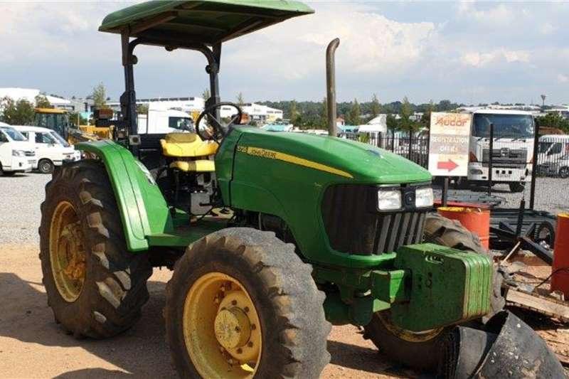 John Deere Tractors 5725 Turbo 4x4 Tractor