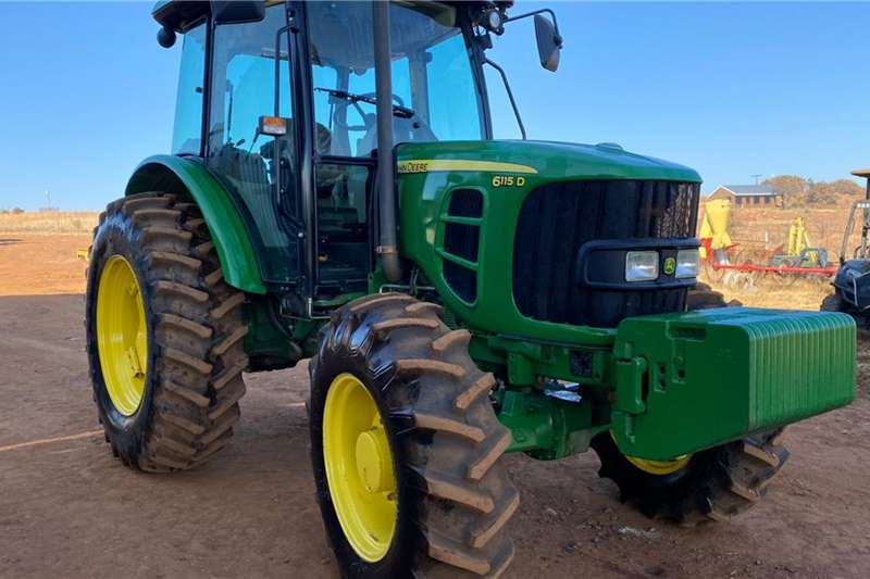 John Deere Tractors 6115D Tractor 88kw with wet Clutch 2018