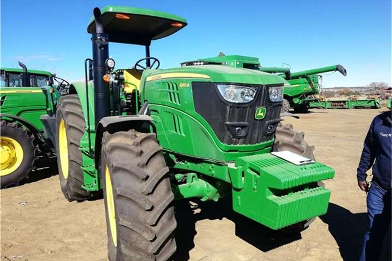 John Deere Tractors 6140M 2017 JOHN DEERE 6140M 501543 2017