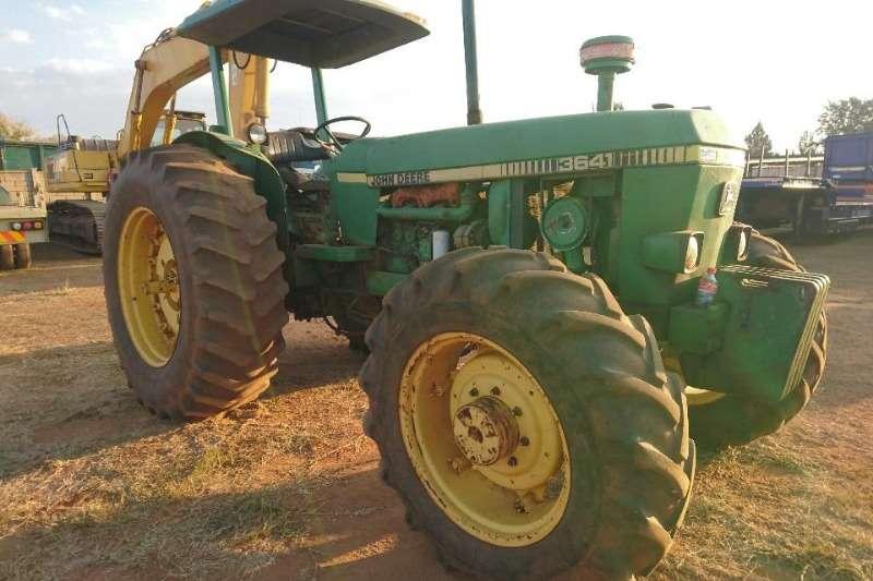 John Deere Tractors Four Wheel Drive Tractors 36-41