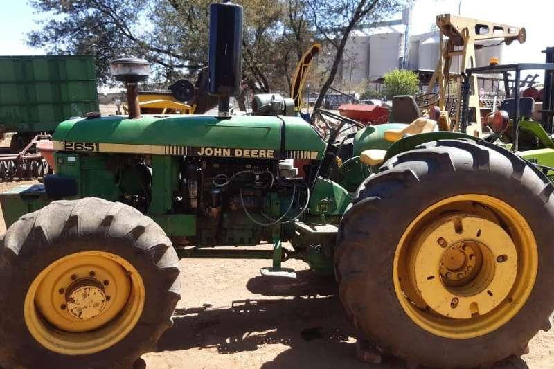 John Deere Tractors Four wheel drive tractors 4x4 john deere trekker 2651 2002
