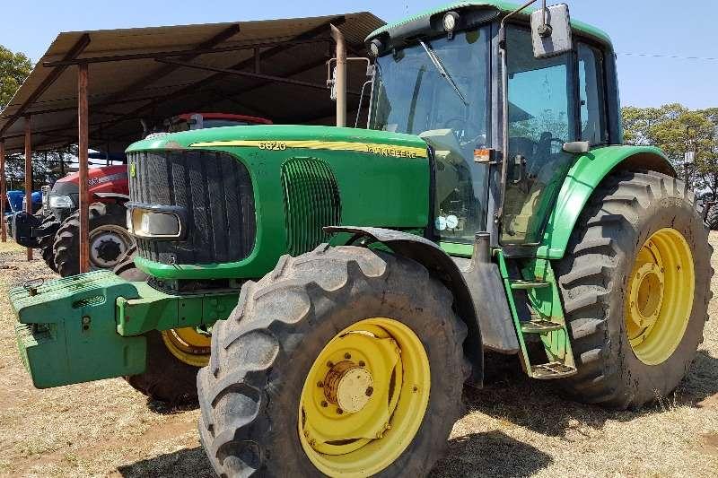 John Deere Tractors Four wheel drive tractors 6620 CAB
