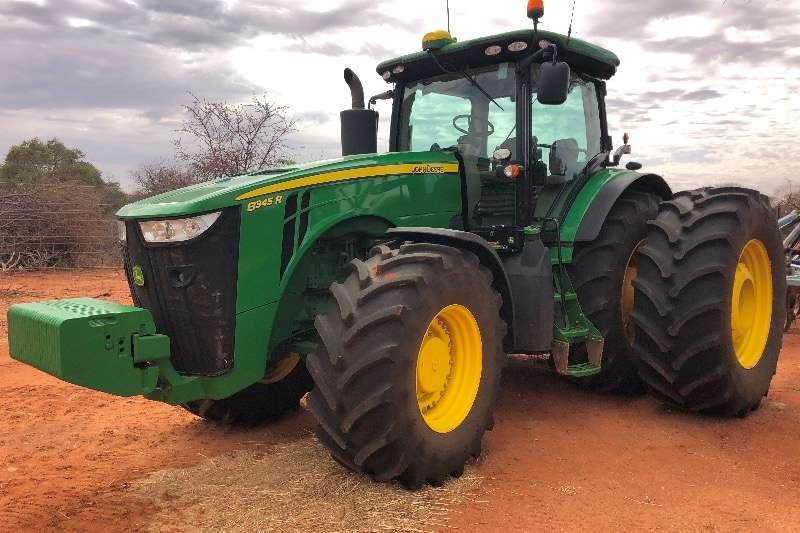 John Deere Tractors Four wheel drive tractors 8345 2018