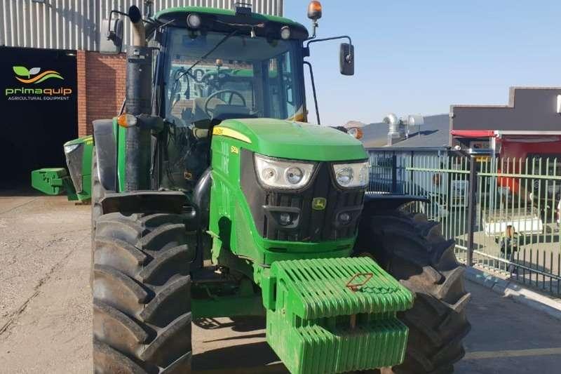 John Deere Tractors Four Wheel Drive Tractors John Deere 6125 M 2018