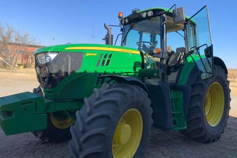 John Deere Tractors Four Wheel Drive Tractors John Deere 6140 M 2017