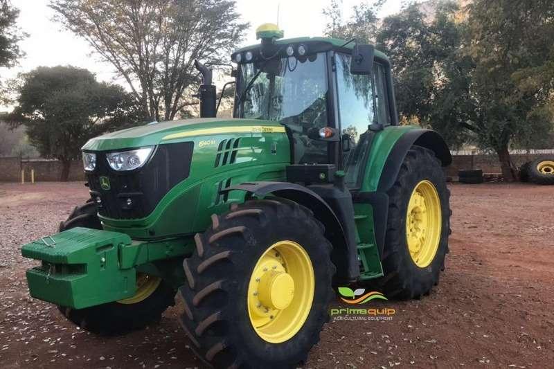 John Deere Tractors Four wheel drive tractors John Deere 6140 M 2018