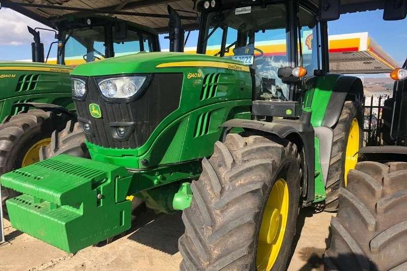 John Deere Tractors Four wheel drive tractors John Deere 6140 M 2019