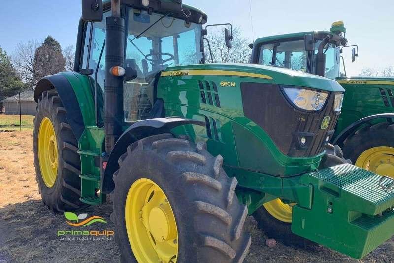 John Deere Tractors Four wheel drive tractors John Deere 6150 M A/T 2016