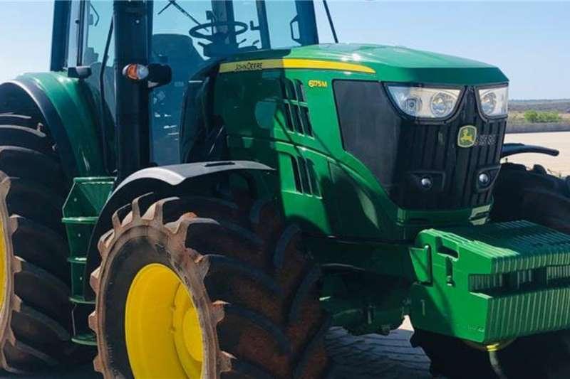 John Deere Tractors Four wheel drive tractors John Deere 6175 M 2018