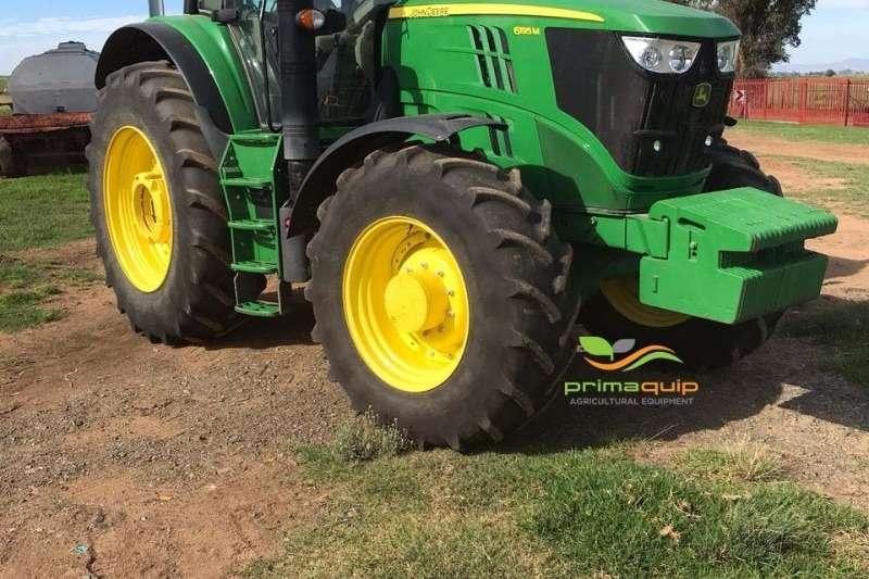 John Deere Tractors Four wheel drive tractors John Deere 6195 M 2017