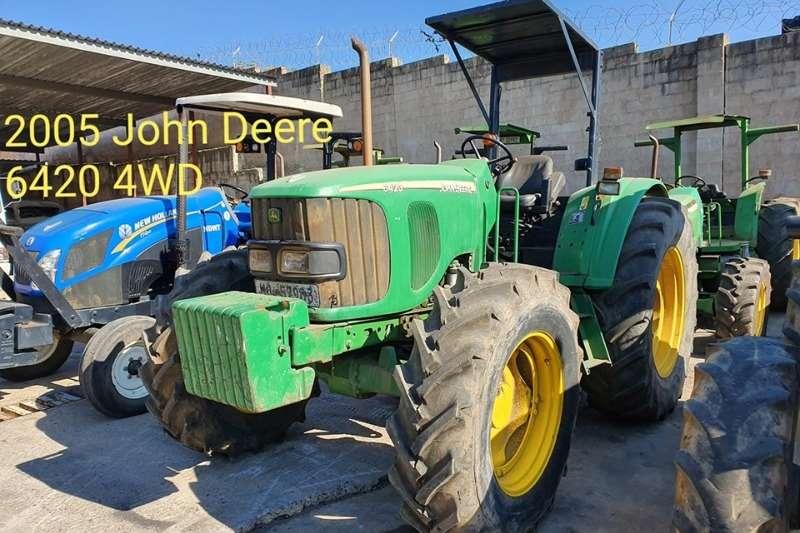 John Deere Tractors Four wheel drive tractors John Deere 6420, stripping for Spares