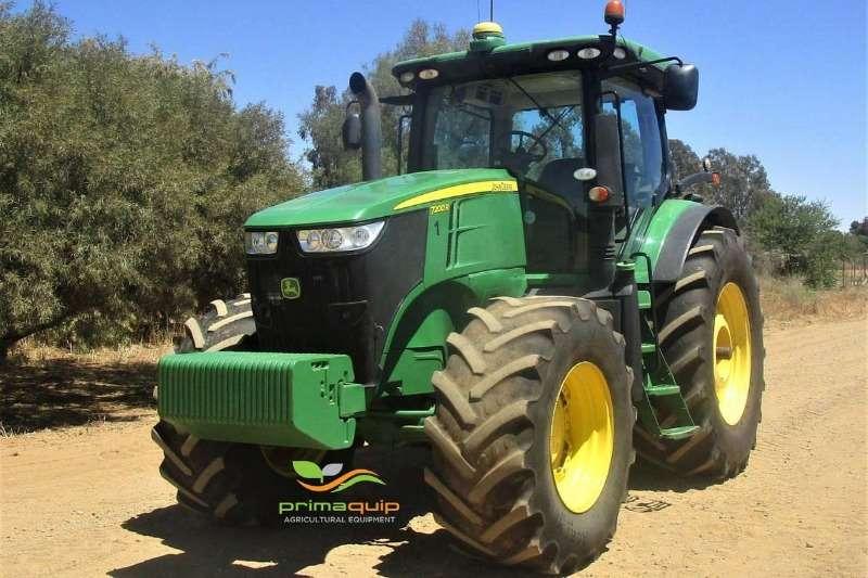John Deere Tractors Four Wheel Drive Tractors John Deere 7200 R 2012
