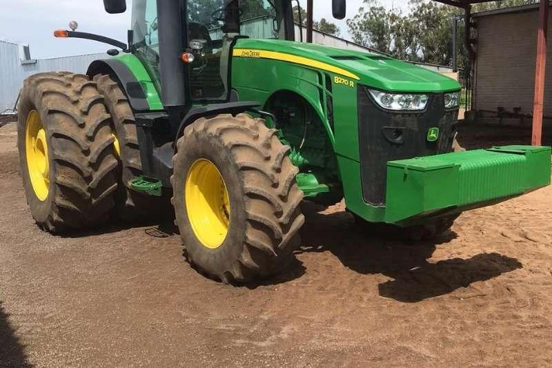 John Deere Tractors Four Wheel Drive Tractors John Deere 8270 R 2015