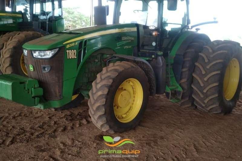 John Deere Tractors Four Wheel Drive Tractors John Deere 8295 R RTK 2015