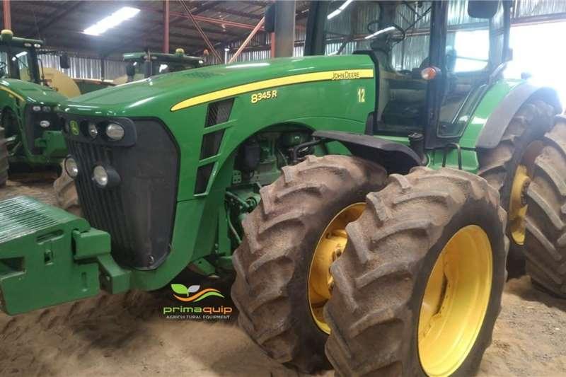 John Deere Tractors Four wheel drive tractors John Deere 8345 R 2012