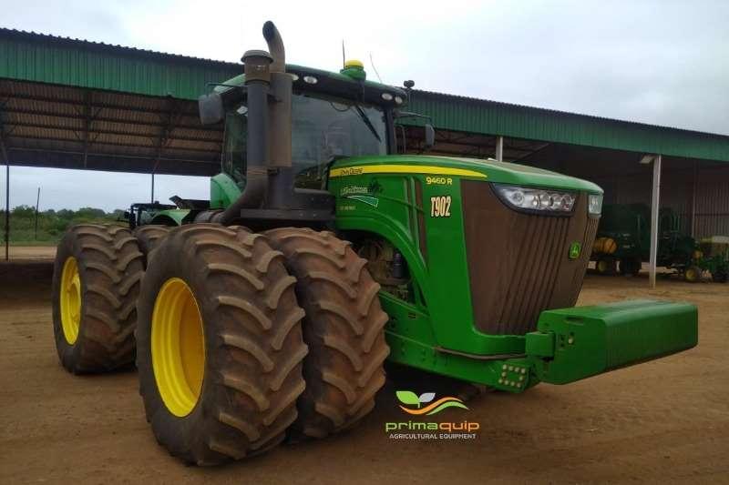 John Deere Tractors Four wheel drive tractors John Deere 9460 R RTK 2015