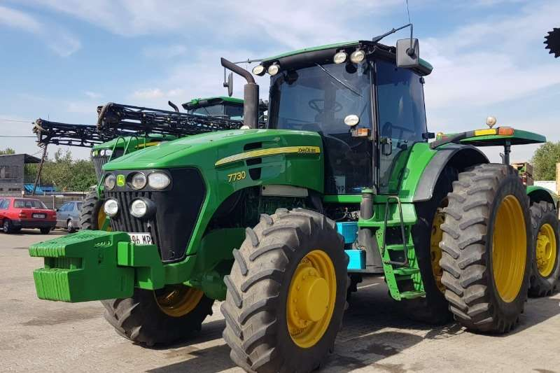 John Deere Tractors Grape harvesters John Deere 7730 2007