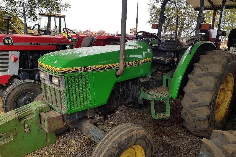 John Deere Two wheel drive tractors 5400 Tractors