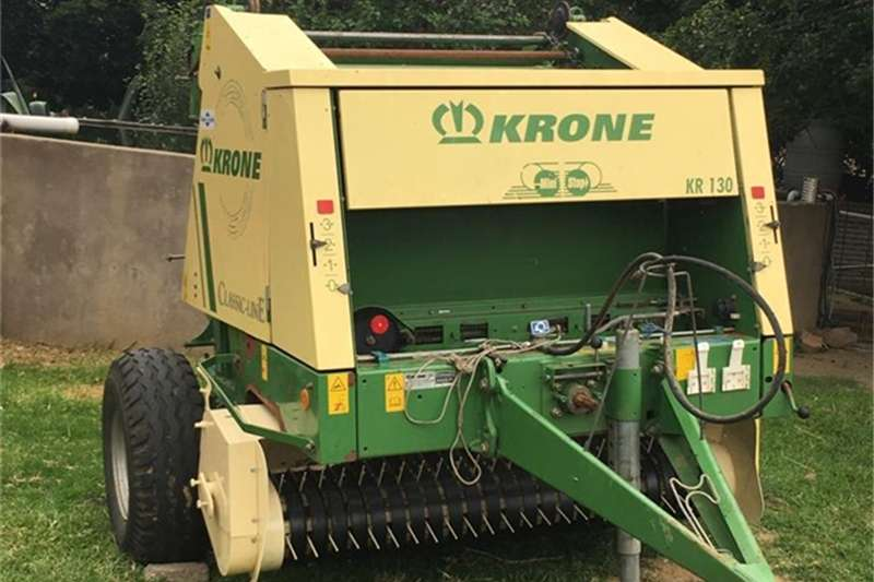 Krone Hay and forage