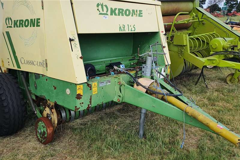 Krone Haymaking and silage Round balers KR125 2007