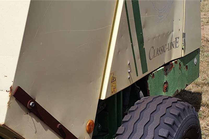 Krone Round balers Krone KR 125 Baler Haymaking and silage