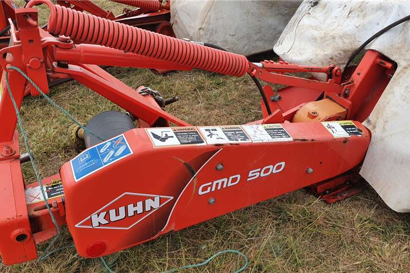 Kuhn Disc mowers GMD 5 disc 5 tol snyer Haymaking and silage