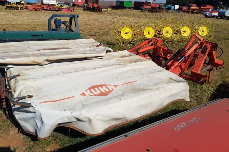 Kuhn Haymaking and silage Disc mowers Kuhn 5 disc mower GMD 500