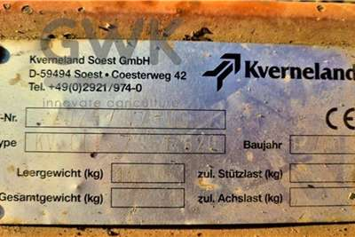 Kverneland Cultivators Kverneland Turbo II Tillage equipment