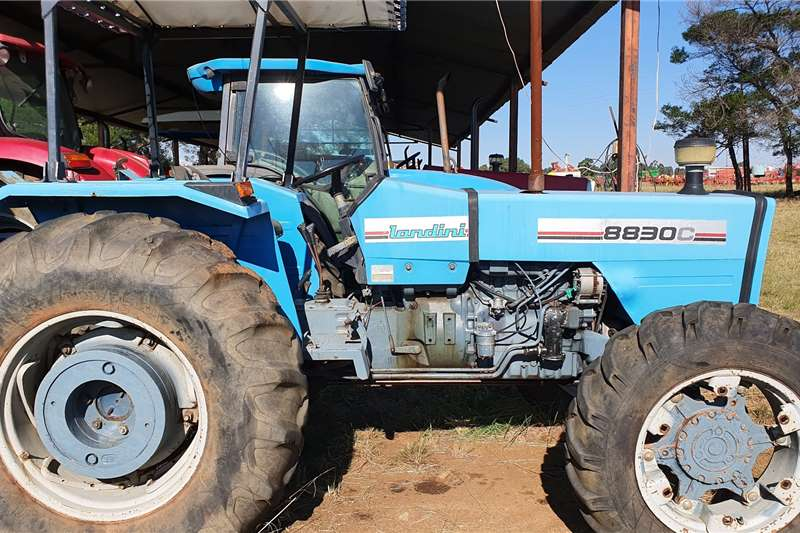 Landini Tractors 4WD Tractors 8830C with papers