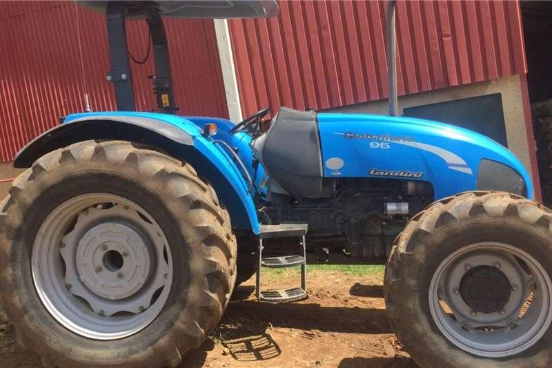 Landini Tractors 4WD tractors Globalfarm 95 Tractor 4x4 2011