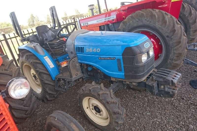 Landini Tractors 4WD tractors Landini 3640