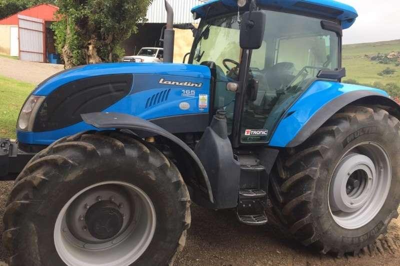 Landini Tractors 4WD tractors Landini Landpower 165 Toptronic 2016