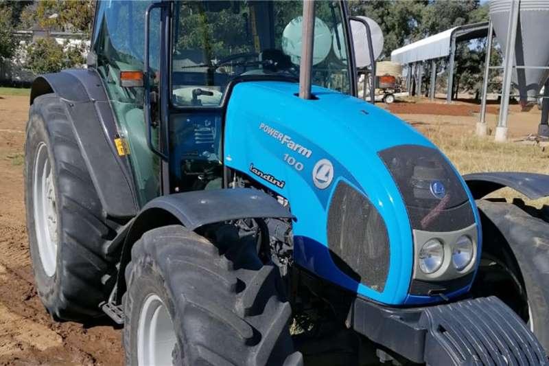 Landini 4WD tractors Landini Powerfarm 100 Tractors